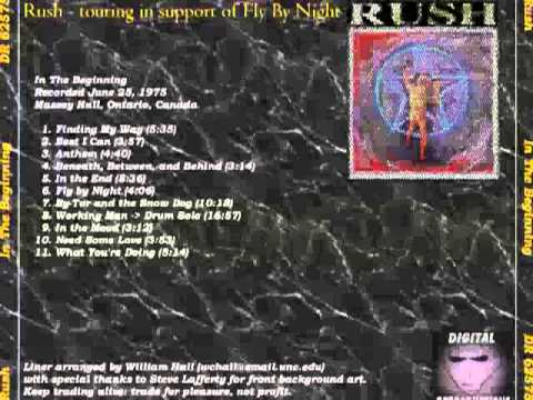 RUSH - Fly By Night Tour 1975 (full)