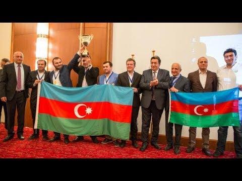 Azerbaijan Wins Gold Medal - European Team Chess Championship 2017 - 06/11/2017