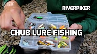 Chub lure fishing with plugs- (video 146)