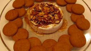 Betty's Almond-apricot Brie With Gingersnaps