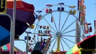 CARNIVAL RIDES ~ GAMES ~ FOOD ~ BROWN