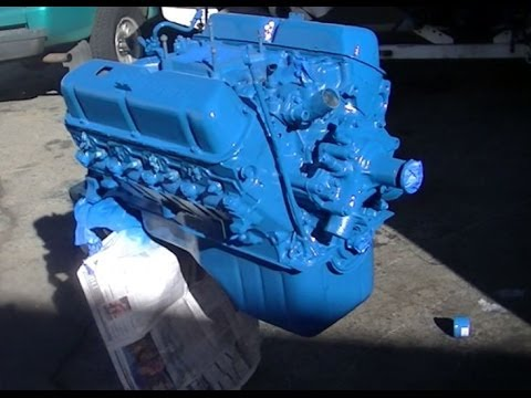 What is numbers matching ? 1969 Mustang Restoration Part 29 Engine Resealed  and painted