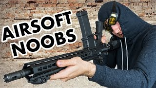 10 Kinds Of AIRSOFT NOOBS