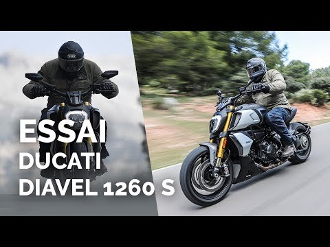 Essai Ducati Diavel 1260 S (2019)