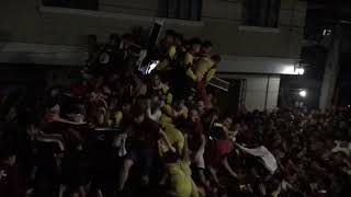 WATCH:Thousands of devotees flock to Quiapo church for Black Nazarene procession on Good Friday