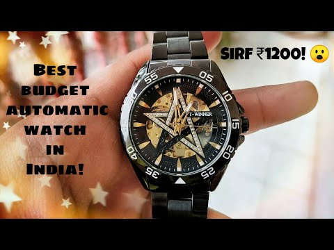 The Best Mechanical Watch Under ₹1000 In India! | Winner Automatic Luxury Watch |Review