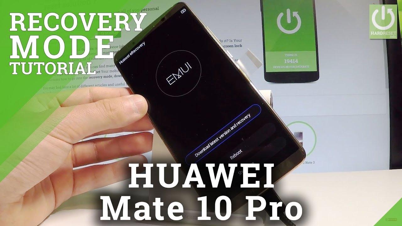 Recovery Mode HUAWEI P Smart - HardReset info