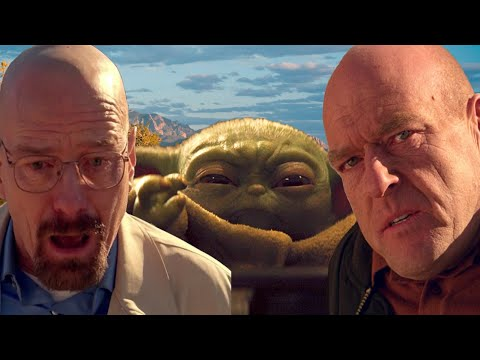 Baby Yoda Takes Out Hank Schrader And Walter White