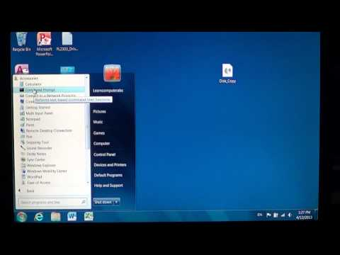 Windows 7 - How to get elevated command prompt run as administrator