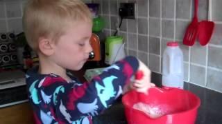 Easy Pancake & Waffle Recipe for Kids!