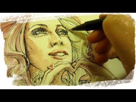 Lady Gaga - Bad Watercolor Romance (sessione In Treno) (sub ENG)