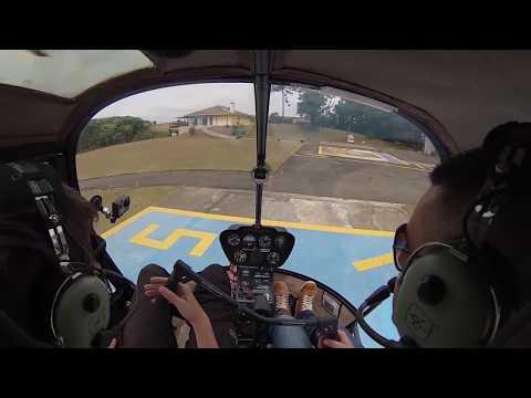 Pilotando Helicoptero
