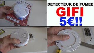 detecteur de fumee gifi à 5 € (+ Concours)