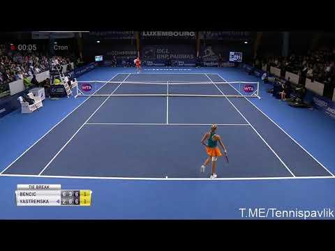Быстрее гепарда!! Невероятный розыгрыш гейма в теннисе! (Ястремская - Бенчич )