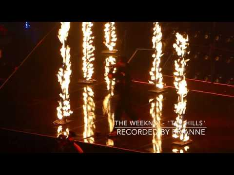 "The Weeknd - ""The Hills"" (Rogers Arena - Vancouver, BC / Dec. 2nd, 2015)"