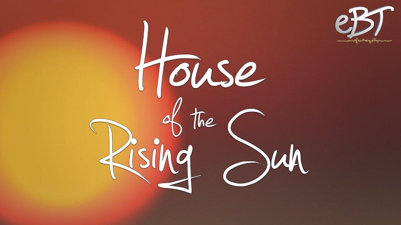 House Of The Rising Sun Karaoke Chords Lyrics Youtube