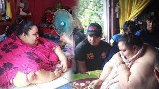 Titi Wati Wanita Berbobot 350 Kg Dievakuasi ke RS, Butuh 20 Orang untuk Angkat hingga Jebol Jendela