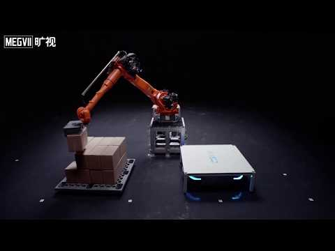 Megvii AI Robot For Smart Logistic And Supply Chain