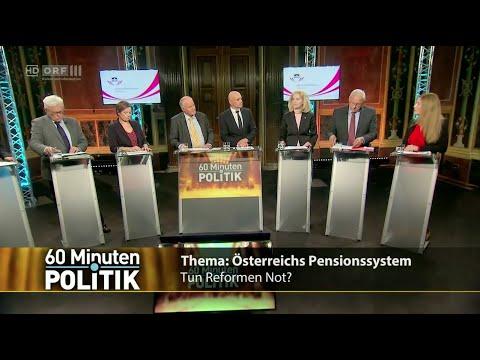 60 Minuten.Politik - Österreichs Pensionssystem - 5.11.2015