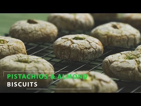 Pistachios & Almond Biscuits Gluten Free Recipe | No Talk | Relaxing cooking