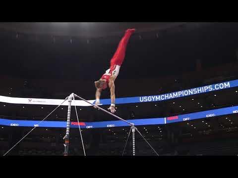 Anthony Stephenson - High Bar - 2018 U.S. Gymnastics Championships - Senior Men Day 1