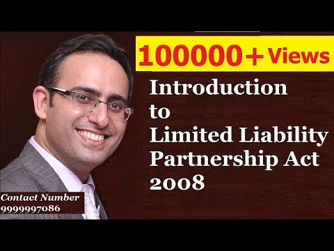 Introduction to Limited Liability Partnership Act 2008 en streaming