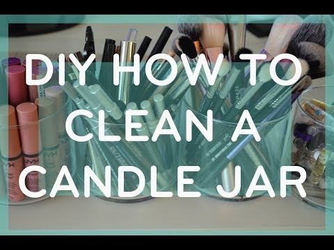 DIY How to Clean a Candle Jar