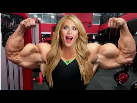 COLLETE NELSON, BEAUTIFUL WOMAN BODYBUILDING / FITNESS MODEL, WORKOUT,