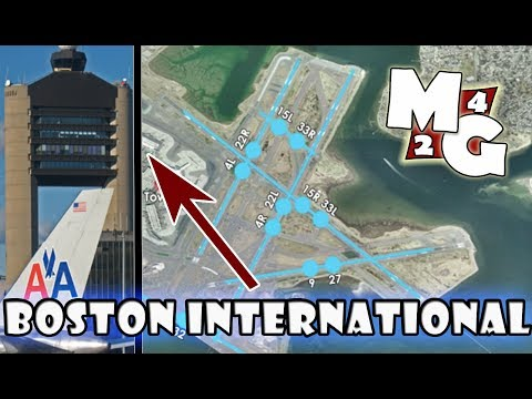 NEW TOWER3D PRO DLC!!!   BOS- Logan International Airport (Boston)