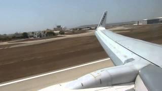 Malta Lądowanie Z Pokładu Ryanair.