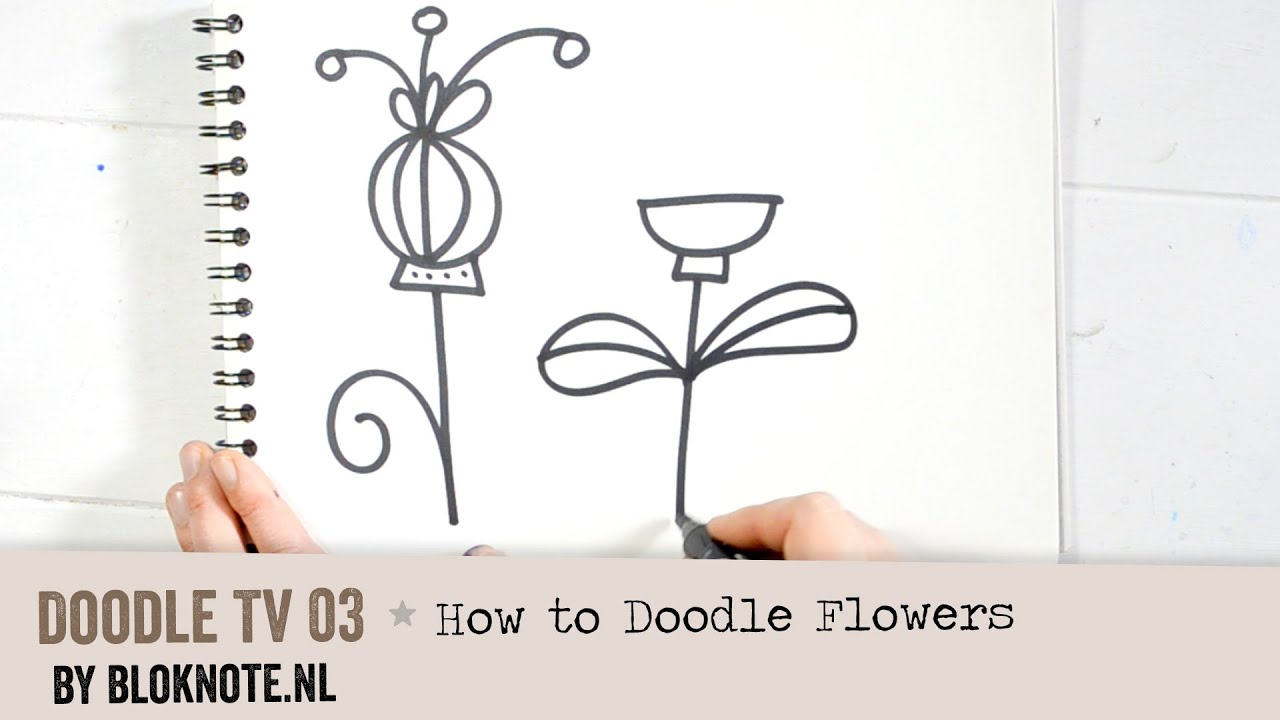 Doodle TV 03 - How to Doodle Flowers