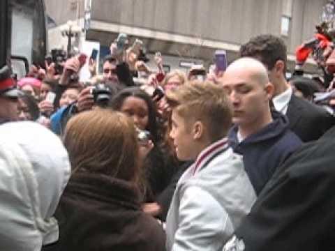 Justin Bieber At Hazelton Hotel In Toronto!