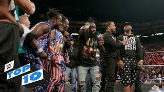 Top 10 SmackDown LIVE moments: WWE Top 10, July 4, 2017 thumbnail