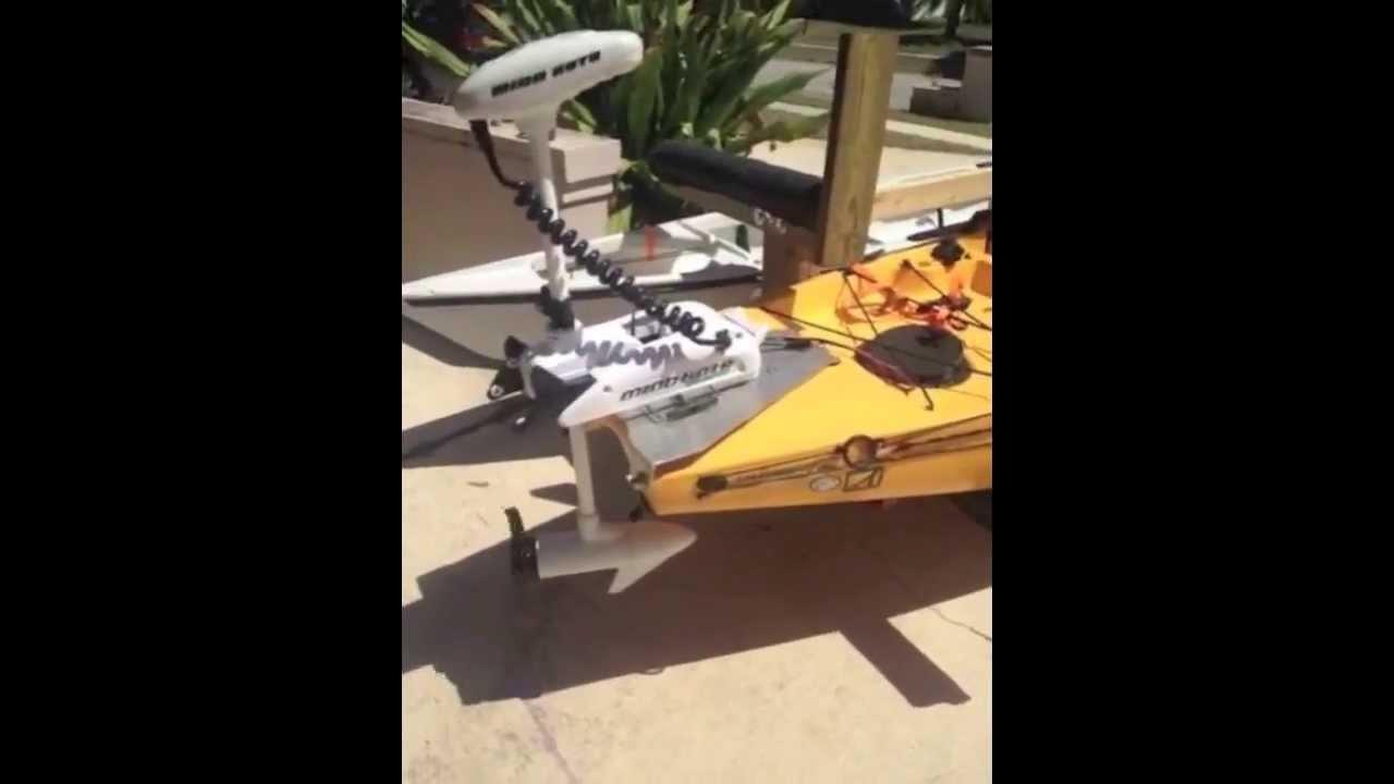Florida Kayak Anglers Custom 55lb Thrust I Pilot Trolling