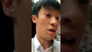 Sixtus Leung Condemed by Hong People in the Streets for His Insults to Chinese People