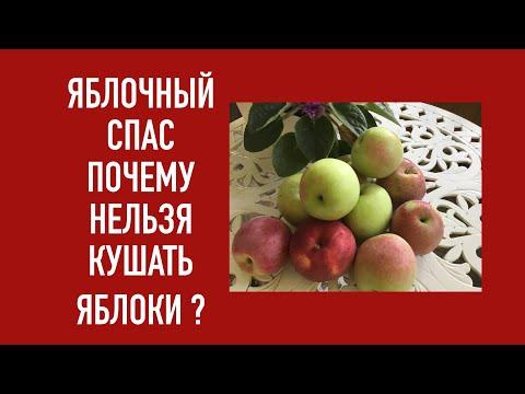 Яблочный Спас !!!ПОЧЕМУ НЕЛЬЗЯ ЕСТЬ ЯБЛОКИ ДО СПАСА ?