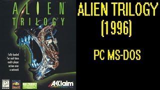 Alien Triology (1996) - DOS Gameplay Video (PC MS-DOS)