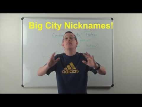 Learn English: Daily Easy English 0874: Big City nicknames