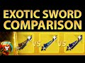 Destiny Taken King: Which Exotic Sword is Best?