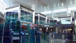 an hd tour of dallas fort worth international airport dfw terminals a b c d and e