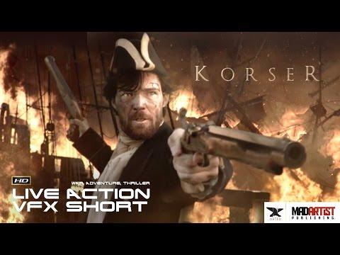 "Live Action CGI VFX Short ""KORSER"". Adventure Film by ArtFX Art & Animation School"