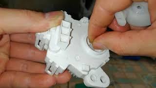 #maygiattoshiba Cách sửa lỗi motor kéo xả máy giặt toshiba. Máy xả không giặt báo lỗi eb