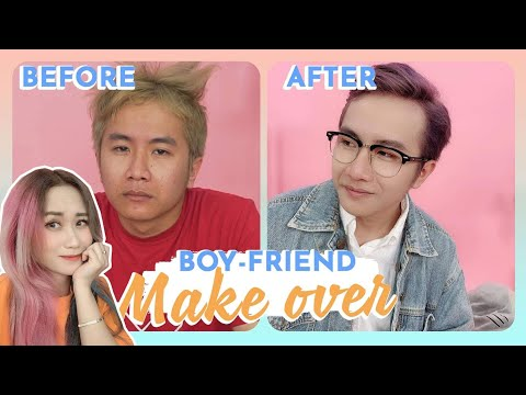 BIẾN THÀNH IDOL HQ | BOY-FRIEND MAKE OVER | HƯƠNG WITCH