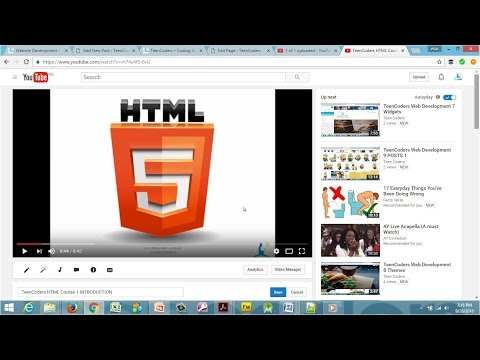 TeenCoders HTML Course 1 INTRODUCTION