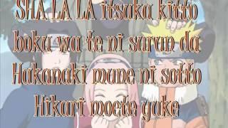 LIRIK LAGU NARUTO: SHALALA