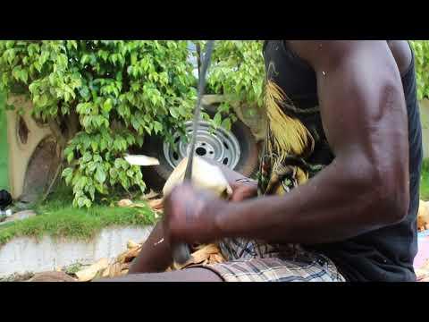Ghana tourism: Ghana coconut vendors get a great workout