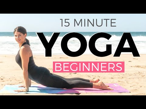 15 minute Morning Yoga for Beginners 🔥 WEIGHT LOSS edition 🔥 Beginners Yoga Workout