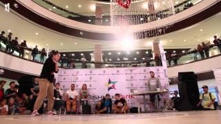 Asya (KZ) vs Beka (KG), Hip Hop Best 4, I am Dancer vol.3