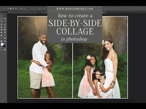 How to create a side-by-side collage in Photoshop CC