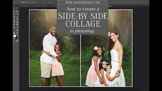 Comment créer un à côté de collage dans Photoshop CC